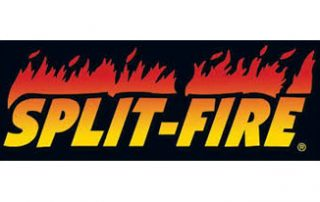 Split-fire logo