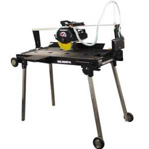 Ceramic Tile Rail Saw Image