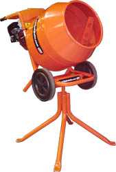 Concrete Mixer Wheelbarrow/Pedestal Image