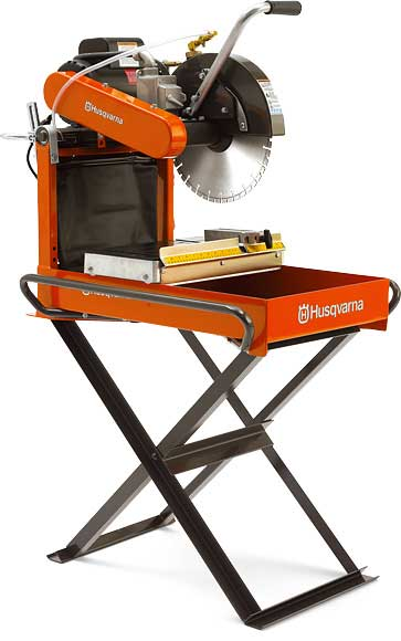 "Interlock & Brick Saw 14"" gas Image"