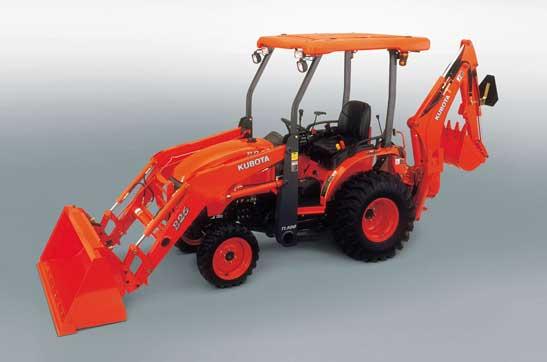 Kubota B26 Tractor/Loader/Backhoe Image