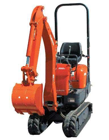 Kubota K008-3 Mini Excavator Image