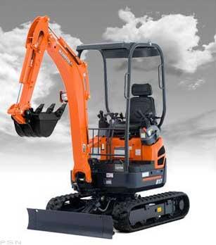 Kubota U17 Mini Excavator Image