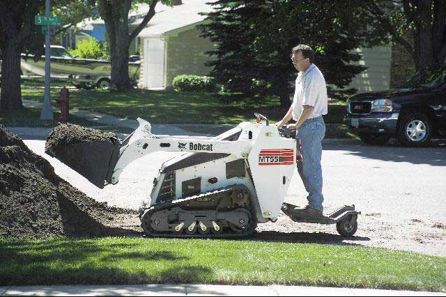 Bobcat MT55 Mini Track Loader Image